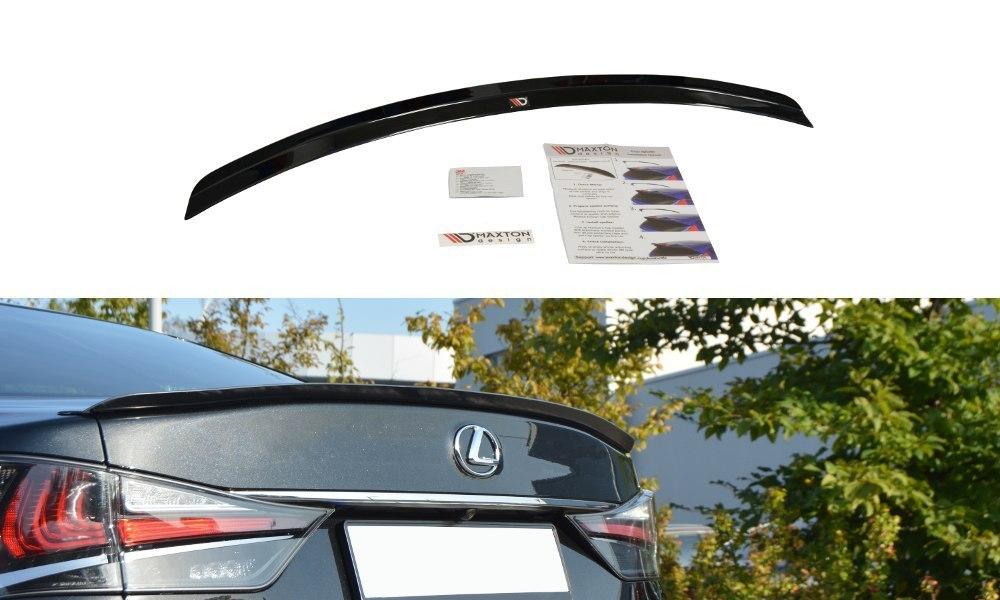 Lotka Lip Spoiler - Lexus GS Mk4 Facelift T - GRUBYGARAGE - Sklep Tuningowy